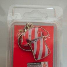 Coleccionismo deportivo: LLAVERO GIRONA FC BLISTER PRODUCTO OFICIAL. Lote 222124875