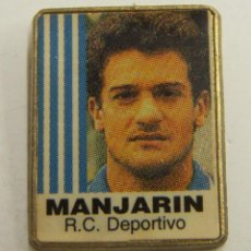 Coleccionismo deportivo: PIN MANJARIN R.C.DEPORTIVO. Lote 222698945