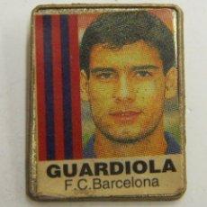 Coleccionismo deportivo: PIN GUARDIOLA F.C.BARCELONA. Lote 222744811