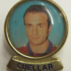 Coleccionismo deportivo: PIN CUELLAR F.C.BARCELONA. Lote 222749355