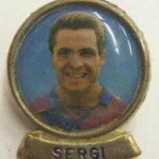 Coleccionismo deportivo: PIN SERGI F.C.BARCELONA. Lote 222749401