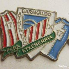 Coleccionismo deportivo: PIN ATHLETIC CLUB BILBAO PEÑA ETXEBERRIA. Lote 222753025