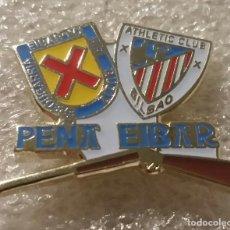 Coleccionismo deportivo: ATHLETIC CLUB BILBAO PIN PEÑA EIBAR. Lote 295490773