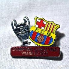 Coleccionismo deportivo: PIN FC BARCELONA FINAL CHAMPIONS LEAGUE WEMBLEY 2011 *. Lote 224411180