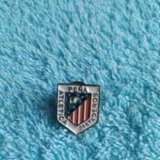 Coleccionismo deportivo: ATLETICO DE MADRID PIN PEÑA ATLETICO MATADERO. Lote 225385572