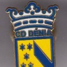 Collezionismo sportivo: PIN DE FUTBOL DEL CLUB DEPORTIVO DENIA (FOOTBALL) ALICANTE. Lote 225986730