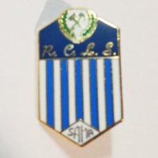 Collectionnisme sportif: PIN PINS FUTBOL RACING CLUB LANGREANO (ASTURIAS). Lote 226635890