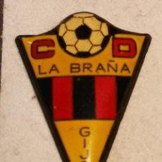 Collectionnisme sportif: PIN FUTBOL - ASTURIAS - GIJON - CD LA BRAÑA. Lote 226978725