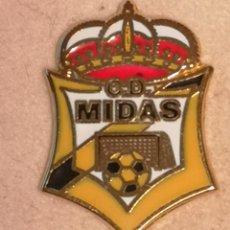 Collectionnisme sportif: PIN FUTBOL - ASTURIAS - GIJON - CD MIDAS. Lote 226980085