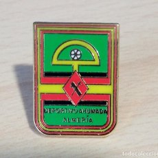 Collectionnisme sportif: PIN PINS FUTBOL DEPORTIVO AHUMADA ALMERIA. Lote 226983780