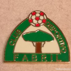 Collectionnisme sportif: PIN FUTBOL - ASTURIAS - GIJON - CD FABRIL. Lote 227461625