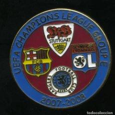 Coleccionismo deportivo: FC BARCELONA - CHAMPIONS LEAGUE 2007-08 GRUP E. Lote 228265185