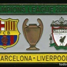 Coleccionismo deportivo: FC BARCELONA - LIVERPOOL FC (CHAMPIONS 2006-07). Lote 228389165