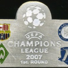 Coleccionismo deportivo: FC BARCELONA - CHAMPIONS LEAGUE 2006-07 - GROUP A. Lote 228693135