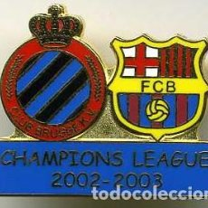 Coleccionismo deportivo: FC BARCELONA - C BRUJAS KV (CHAMPIONS LEAGUE 2002-2003). Lote 228693325