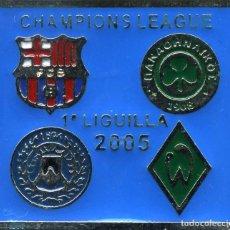 Coleccionismo deportivo: FC BARCELONA - CHAMPIONS LEAGUE 2005-06. Lote 229001100