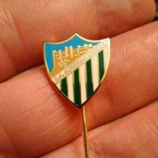 Coleccionismo deportivo: INSIGNIA FÚTBOL CA AURORA- MARCILLA , (NAVARRA). Lote 230258465