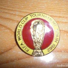 Collezionismo sportivo: PIN FIFA WORLD CUP TOURNEMENT SPAIN 1982. Lote 232316825