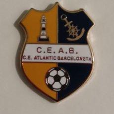 Coleccionismo deportivo: C E ATLANTIC BARCELONETA... BARCELONA. Lote 234316070