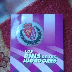 Coleccionismo deportivo: REAL VALLADOLID 1994 1995 COLECCIÓN PINS. Lote 234442215