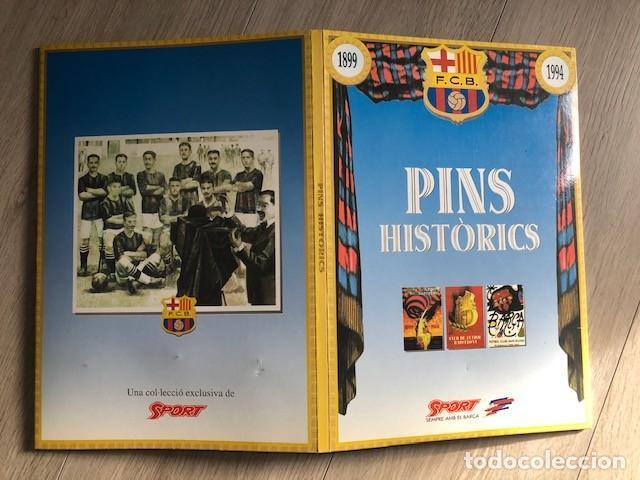Coleccionismo deportivo: colección PINS históricos y lámimnas del BARÇA - 1899-1994 - Foto 3 - 235442385