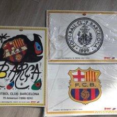Coleccionismo deportivo: COLECCIÓN PINS HISTÓRICOS Y LÁMIMNAS DEL BARÇA - 1899-1994. Lote 235442385