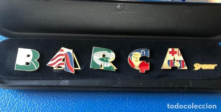 COLECCIÓN PINS DEL BARÇA. (Coleccionismo Deportivo - Pins de Deportes - Fútbol)