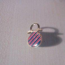 Coleccionismo deportivo: PIN DE CLIP DEL CHUPETE DEL BARÇA. FC BARCELONA. FUTBOL. Lote 235966450