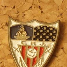 Coleccionismo deportivo: PIN FÚTBOL C.F..J. MOLLERUSSA (LLEIDA - LÉRIDA) (COMPLETO). Lote 236263445
