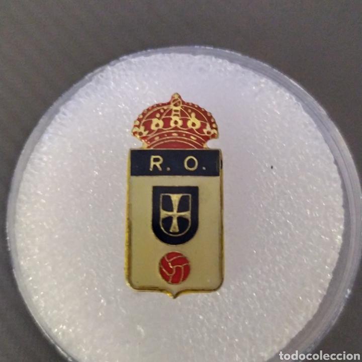 PIN ANTIGUO REAL OVIEDO (Coleccionismo Deportivo - Pins de Deportes - Fútbol)