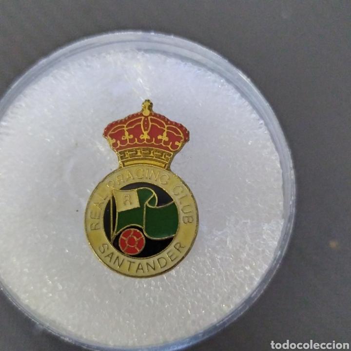 PIN RÁCING SANTANDER (Coleccionismo Deportivo - Pins de Deportes - Fútbol)