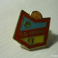 Coleccionismo deportivo: PIN FUTBOL CD IMPERIO. Lote 244565815