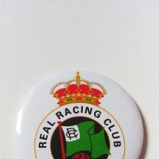Coleccionismo deportivo: CHAPA DEL REAL RACING CLUB DE SANTANDER - IMAN DE 58MM. Lote 244804670