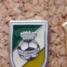 Coleccionismo deportivo: INSIGNIA ESCUDO C.D. CAMPILLOS. Lote 246014015