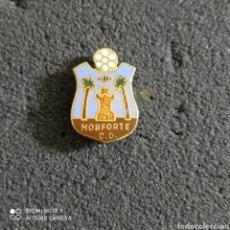 Coleccionismo deportivo: PIN MONFORTE C.D. - MONFORTE DEL CID (ALICANTE). Lote 246097655