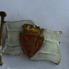 Collectionnisme sportif: PINS ALFILER REAL ZARAGOZA AÑOS 50. Lote 249175110
