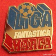 Coleccionismo deportivo: PIN LIGA FANTASTICA MARCA. Lote 249554390