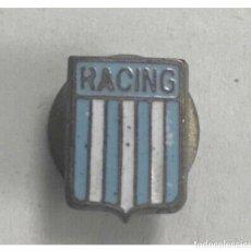 Coleccionismo deportivo: ANTIGUA INSIGNIA PIN CLUB DE FUTBOL ARGENTINA RACING AVELLANEDA. Lote 250290670