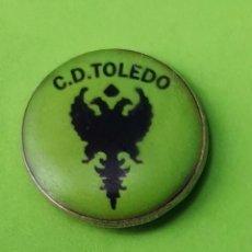 Collezionismo sportivo: PIN DE FÚTBOL... OFICIAL.. C. D. TOLEDO.. Lote 252637560