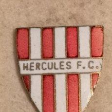 Coleccionismo deportivo: PIN FUTBOL - ALACANT / ALICANTE - HERCULES FC. Lote 252883915