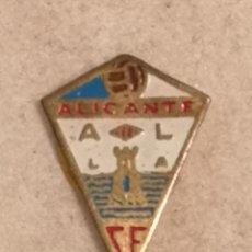 Coleccionismo deportivo: PIN FUTBOL - ALACANT / ALICANTE - ALICANTE CF. Lote 252895740