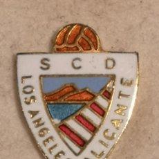 Coleccionismo deportivo: PIN FUTBOL - ALACANT / ALICANTE - SCD LOS ANGELES ALICANTE. Lote 252896510