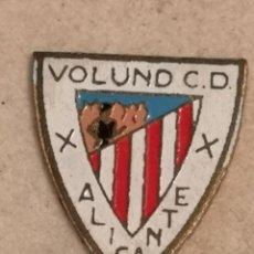 Coleccionismo deportivo: PIN FUTBOL - ALACANT / ALICANTE - VOLUND CD. Lote 252897710