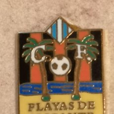 Coleccionismo deportivo: PIN FUTBOL - ALACANT / ALICANTE - CF PLAYAS DE ALICANTE. Lote 252898190