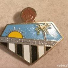 Coleccionismo deportivo: PIN FUTBOL - ALACANT / ALICANTE - ELX / ELCHE - CLUB DAMA DE ELCHE - SOLAPA. Lote 254119705