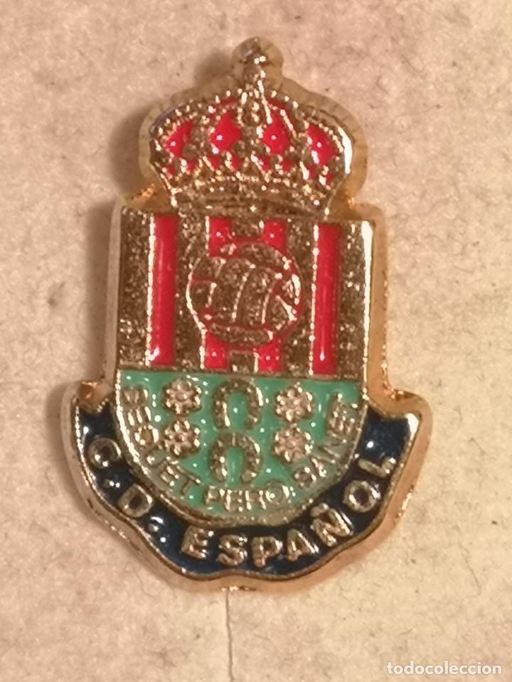 PIN FUTBOL - ALACANT / ALICANTE - S. V. DEL RASPEIG - CD ESPAÑOL (Coleccionismo Deportivo - Pins de Deportes - Fútbol)