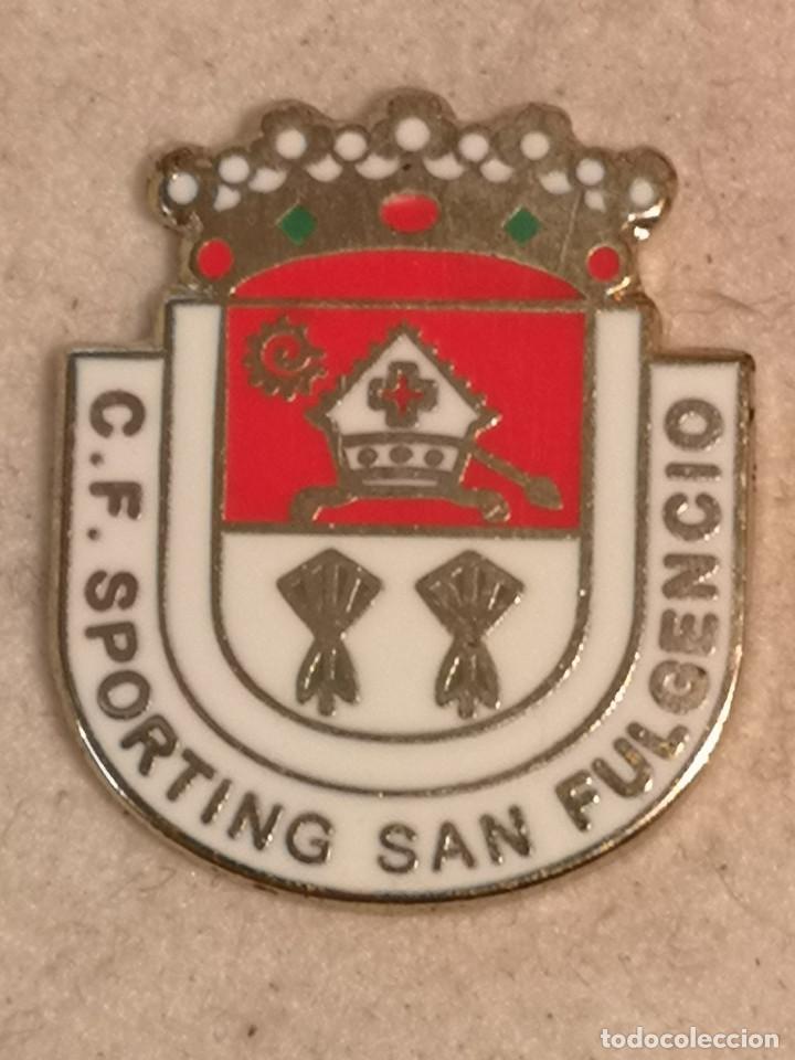 PIN FUTBOL - ALACANT / ALICANTE - SANT FULGENCI / SAN FULGENCIO - CD SPORTING SAN FULGENCIO (Coleccionismo Deportivo - Pins de Deportes - Fútbol)