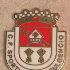 Coleccionismo deportivo: PIN FUTBOL - ALACANT / ALICANTE - SANT FULGENCI / SAN FULGENCIO - CD SPORTING SAN FULGENCIO. Lote 254306040