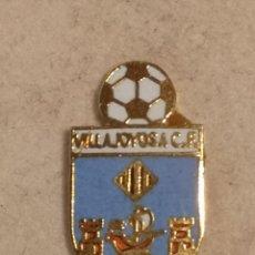 Coleccionismo deportivo: PIN FUTBOL - ALACANT / ALICANTE - VILA JOIOSA / VILLAJOYOSA - VILLAJOYOSA CF. Lote 254665310