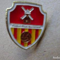 Colecionismo desportivo: PIN FÚTBOL - F.C. BENAVENT. Lote 254817560